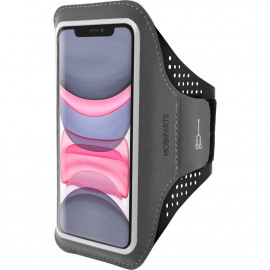Mobiparts Comfort Fit Sport Armband Apple iPhone 11 Zwart