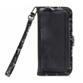 Mobilize 2en1 Gelly Wallet Zipper Étui iPhone 11 Noir / Lézard
