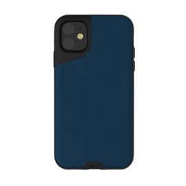 Mous Contour - Coque iPhone 11 - En cuir - Bleue