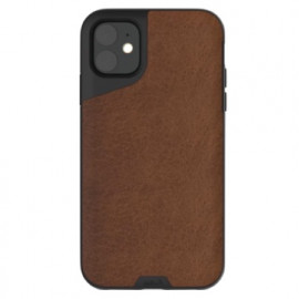 Mous Contour - Coque iPhone 11 - En cuir - Marron