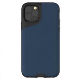 Mous Contour - Coque iPhone 11 Pro - En cuir - Bleue