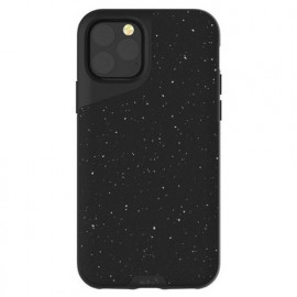 Mous Contour - Coque iPhone 11 Pro - En cuir - Noir moucheté