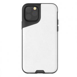 Mous Contour - Coque iPhone 11 Pro - En cuir - Blanc