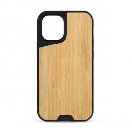 Mous Limitless 3.0 - Coque Mous pour iPhone 12 Mini - Bamboo