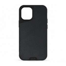 Mous Limitless 3.0 - Coque Mous pour iPhone 12 Mini - Cuir noir