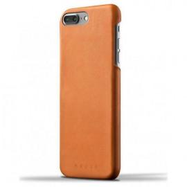 Mujjo Coque de protection en cuir iPhone 7 / 8 Plus Marron
