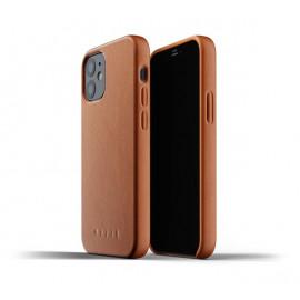 Mujjo - Coque cuir iPhone 12 - Marron