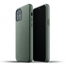 Mujjo - Coque iPhone 12 / iPhone 12 Pro Cuir - Vert