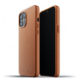 Mujjo - Coque cuir iPhone 12 Pro Max - Marron