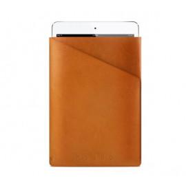 Mujjo Slim Fit - Pochette / Étui pour iPad Mini 1 / 2 / 3 / 4 / 5 En Cuir - Camel