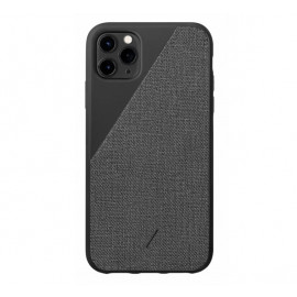 Native Union Clic Canvas case iPhone 11 Pro Max zwart