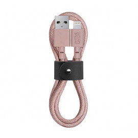 Native Union Kevlar Belt Lightning - Câble de charge 1.2m - Rose