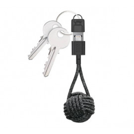 Native Union Kevlar Key Lightning - Câble de charge - Noir