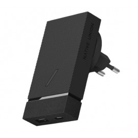 Native Union Smart Chargeur intelligent Multiports 18W Noir