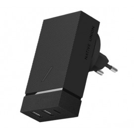 Native Union Smart Chargeur intelligent Multiports 45W Noir