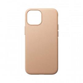 Nomad Modern Coque en cuir Magsafe iPhone 13 Mini Beige