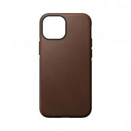 Nomad Modern Coque en cuir Magsafe iPhone 13 Mini Brun