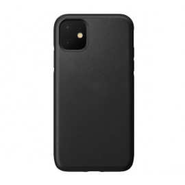 Nomad Rugged Coque iPhone 11 En cuir Noire