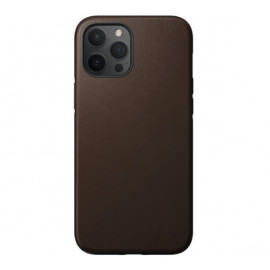 Nomad Rugged Leather Case iPhone 12 / iPhone 12 Pro bruin