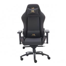 Nordic Gaming Gold Premium SE - Chaise Gaming / Siège Gamer En cuir véritable - Noir