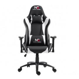 Nordic Gaming Racer - Chaise Gaming - Blanc / Noir