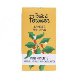 Prêt à Pousser - Capsule  Mini Piments