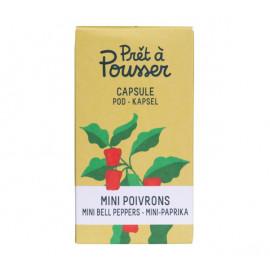 Prêt à Pousser - Capsule Mini Poivrons