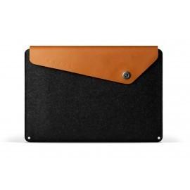 Mujjo Pochette en cuir pour MacBook Pro retina 15'' Marron