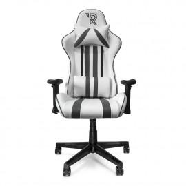 Ranqer - Felix Siège gamer / Chaise gaming -  Blanc / Gris