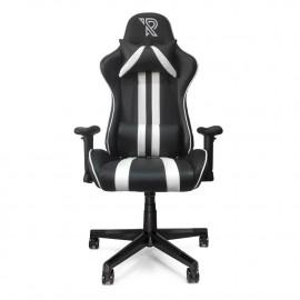 Ranqer - Felix Siège gamer / Chaise gaming -  Noir / Blanc