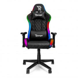 Ranqer Halo RGB gamestoel zwart