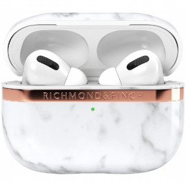 Richmond & Finch - Freedom Series Étui Airpods Pro - Marbre Blanc