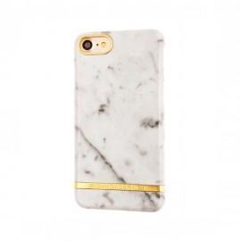 Richmond and Finch Marble Glossy - Coque iPhone 7 / 8 / SE 2020 - Marbre Blanc