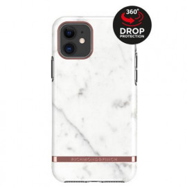Richmond & Finch - Freedom Series Coque Apple iPhone 11 - Marbre Blanc