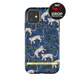 Richmond & Finch - Freedom Series  Coque iPhone 11 - Bleu Léopard