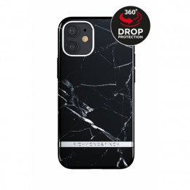 Richmond & Finch - Freedom Series Coque iPhone 12 / iPhone 12 Pro - Marbre Noir