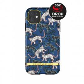 Richmond & Finch - Freedom Series Coque iPhone 12 / iPhone 12 Pro - Bleu Léopard