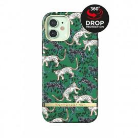 Richmond & Finch - Freedom Series Coque iPhone 12 / iPhone 12 Pro - Vert Léopard