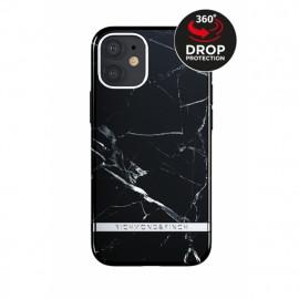 Richmond & Finch - Freedom Series Coque iPhone 12 Mini - Marbre Noir