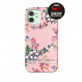 Richmond & Finch - Freedom Series Coque iPhone 12 Mini - Fleurs Roses