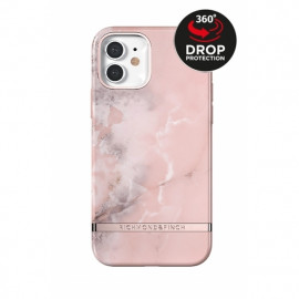 Richmond & Finch - Freedom Series Coque iPhone 12 Mini - Marbre Rose