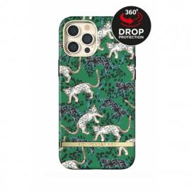 Richmond & Finch - Freedom Series Coque iPhone 12 Pro Max - Vert Léopard