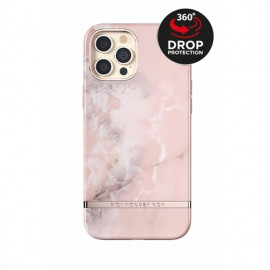 Richmond & Finch - Freedom Series Coque iPhone 12 Pro Max  - Marbre Rose