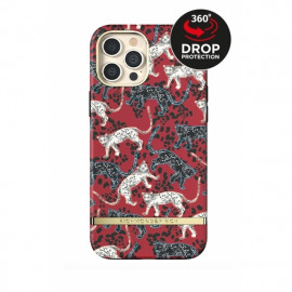 Richmond & Finch - Freedom Series Coque iPhone 12 Pro Max - Rouge Léopard
