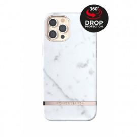Richmond & Finch - Freedom Series Coque iPhone 12 Pro Max - Marbre Blanc