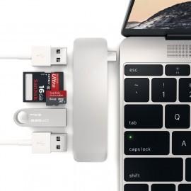 Satechi hub USB-C vers USB 3.0 et Carte (micro) SD