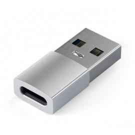 Adaptateur Satechi USB-A à USB-C - Argent