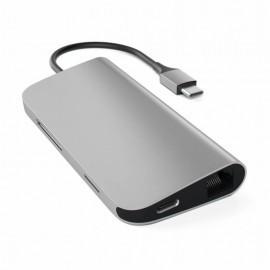 Satechi USB-C Multi-Port Adapter 4K Ethernet Space grey
