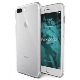 X-Doria 360 Coque intégrale avec verre trempé Phone 7 / 8 Plus Transparent