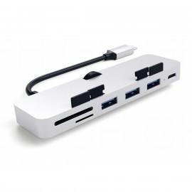 Satechi Adaptateur - Type USB-C - Hub Clamp Pro - Argent